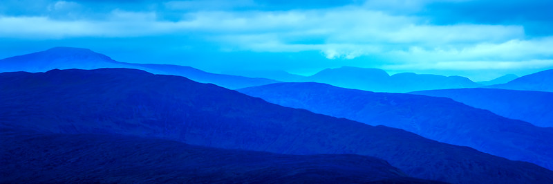 NEVIS RANGE IN BLUE