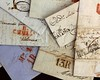 anonymous handwritten real old letters from Spain