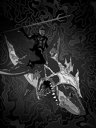 Anjhélian Shark Rider