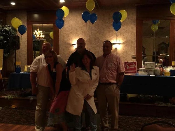 Mark Potaczala, Dave Frederick, Robert DelPriore, KC Vantine, Michele Conklin Barile Class of '72