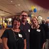 Debbie Fell, Howie Feller, Kathy Fisher as we sat in Homeroom.... :)