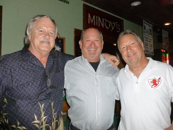 Chuck Fancourt '68, Tom Haage '71, and Craig Plucinski '70