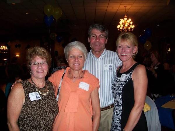 Betty Leitzen '73, Barb Sheehan Sweitzer '71, Mike Sheehan '70, Mary Ellen Sheehan