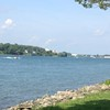 Awesome bike tour view along the Niagara River