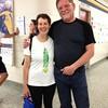 Mary Pittman and Sunday school classmates years later Terry DeBruin and David Bolinsky '70