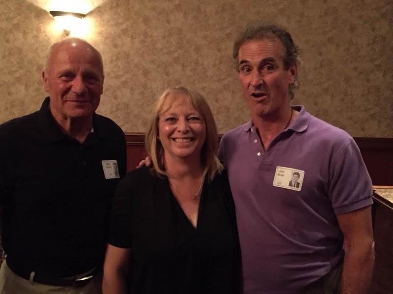 Marty Bryant '69, Mary Ann Moffitt Bryant '70, John Boyle '70
