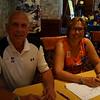 Sam Grieco and Debi Drollinger Calabrese at Registration
