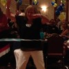 Joyce Nablo Bradley '70, hoola hooping