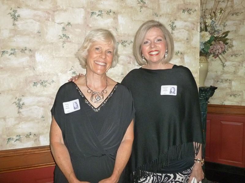 Holly Hutt Kelly and Darleen Faley Jaegar both of '70