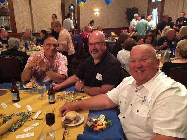 Robert DelPriore, Dave Frederick, and Mark Potaczala Class of '72