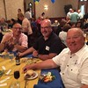 Robert DelPriore, Dave Frederick, and Mark Potaczala Class of '72