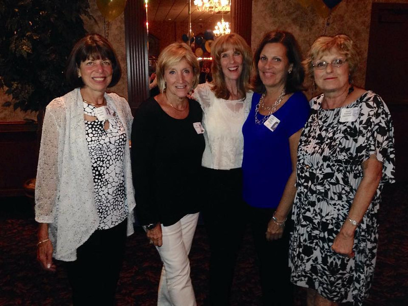 Phyllis Morgan Miller, Gail Trombley, Gail Forsyth, Jackie Wirges Johnson, Karen Radzwill Machovoe all of '70