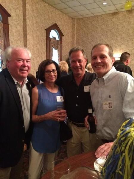 Jim Dunnigan '69, Leanne Humes Rutkowski '69, Ron Kumm '70, Bob Rutkowski '68