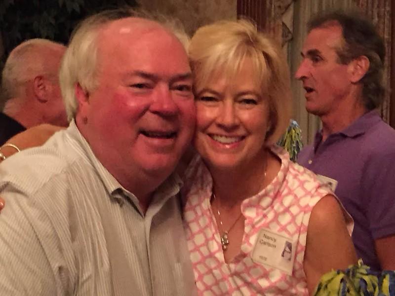 Jim Dunnigan '69, Nancy Carlson '70, John Boyle '70