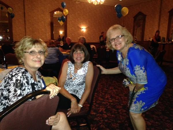 Karen Radzwill Machovoe '70, Phyllis Morgan Miller '70, Lois Hamlin Weaver '70
