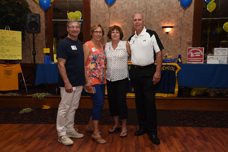 Committee Couples Carl Calabrese '70, Debi Drollinger Calabrese '71, Cathy Anker Grieco '70, Sam Grieco '70