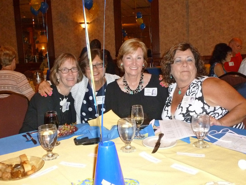 Lynn Shields '70, Margie Stanton Benevento '70, Kathy Fisher Goudeket '70, Lynn Badgley Astridge '69