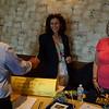 Alan MacKenzie, Diane Shoot Dusek, Laurie Pandolfi Adamczyk at Alumni/Shirt Table