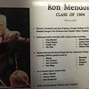 Ron Mendola Plaque