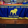 School Banner and Prize Table