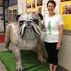 """Bulldog Terry DeBruin…As Lou Reuter said, """"Once a bulldog, always a bulldog."""""""