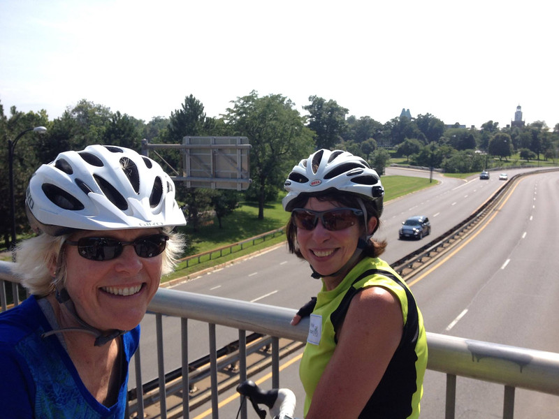 Holly Hutt Kelly and Phyllis Morgan Miller…'70 on the long route