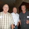 John Ferguson, Craig Plucinski '70, Tom Walsh