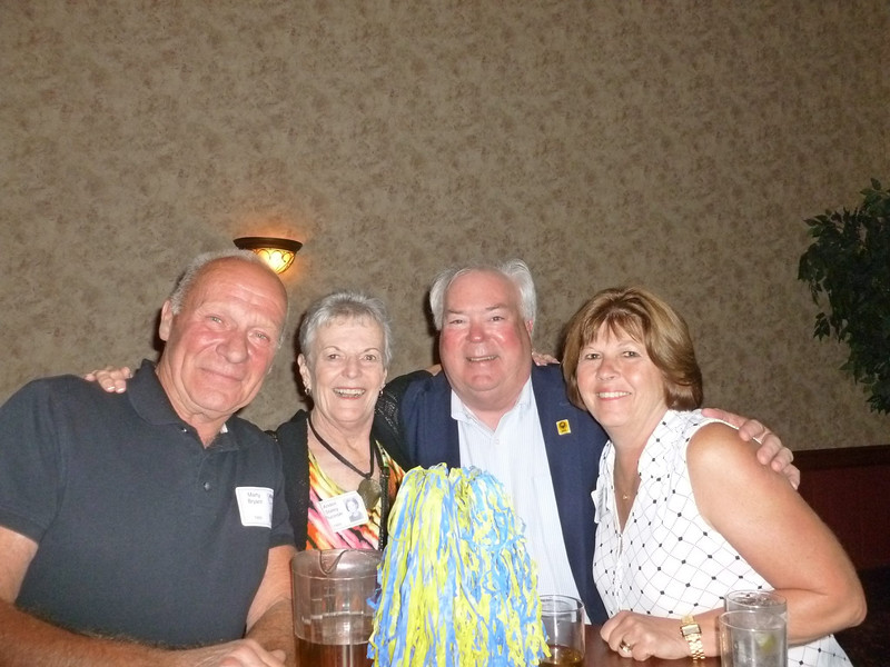 Marty Bryant '69, Andee Staley Plucinski '69, JIm Dunnigan '69, Cathy Anker Grieco '70