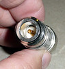 Inside view of back of 50 ohm attenuator. (Standard N-female)