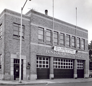 The building in 1963. Photographer unknown.