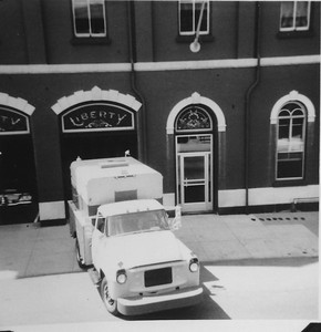 The Liberty's new Scuba Truck. Photo courtesy Al Batastini, scanned by Anthony Miccicke.