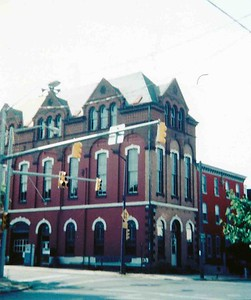 The Liberty FIre Station in the 1970's. Photo courtesy of the Reading Historical Preservation Society