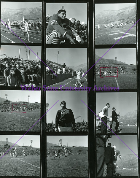 Football vs Idaho State 1966-67 a