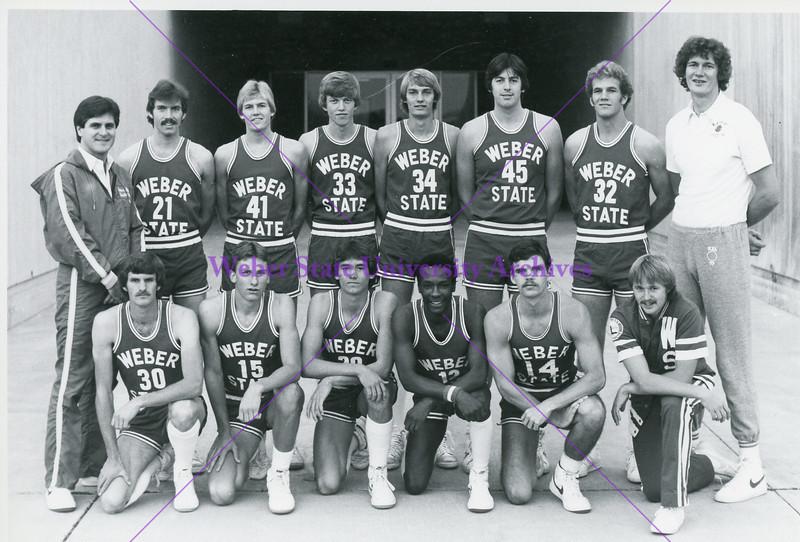 Basketball team 1980s