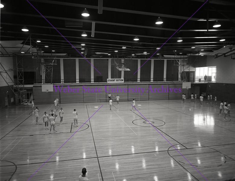 Basketball practice 1962-63 b