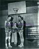 Basketball players and woman 1949-1950