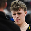 Thomson Valley's Hunter Williams cries as he leaves the mat after losing his 160-pound championship match during the 4A state wrestling tournament Saturday Feb. 17, 2018 at the Pepsi Center in Denver. (Cris Tiller / Loveland Reporter-Herald)