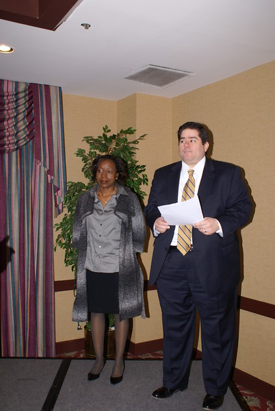 RHCA Election Proctors Chris Montez and Tameka Sadler report the results of the RHCA Board elections
