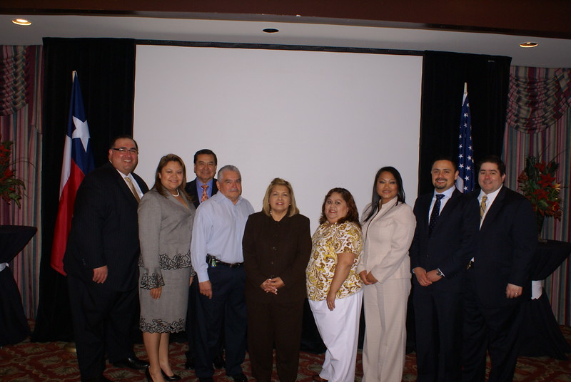 John H. Martinez-D., RHCA President with members of the newly elected RHCA Board