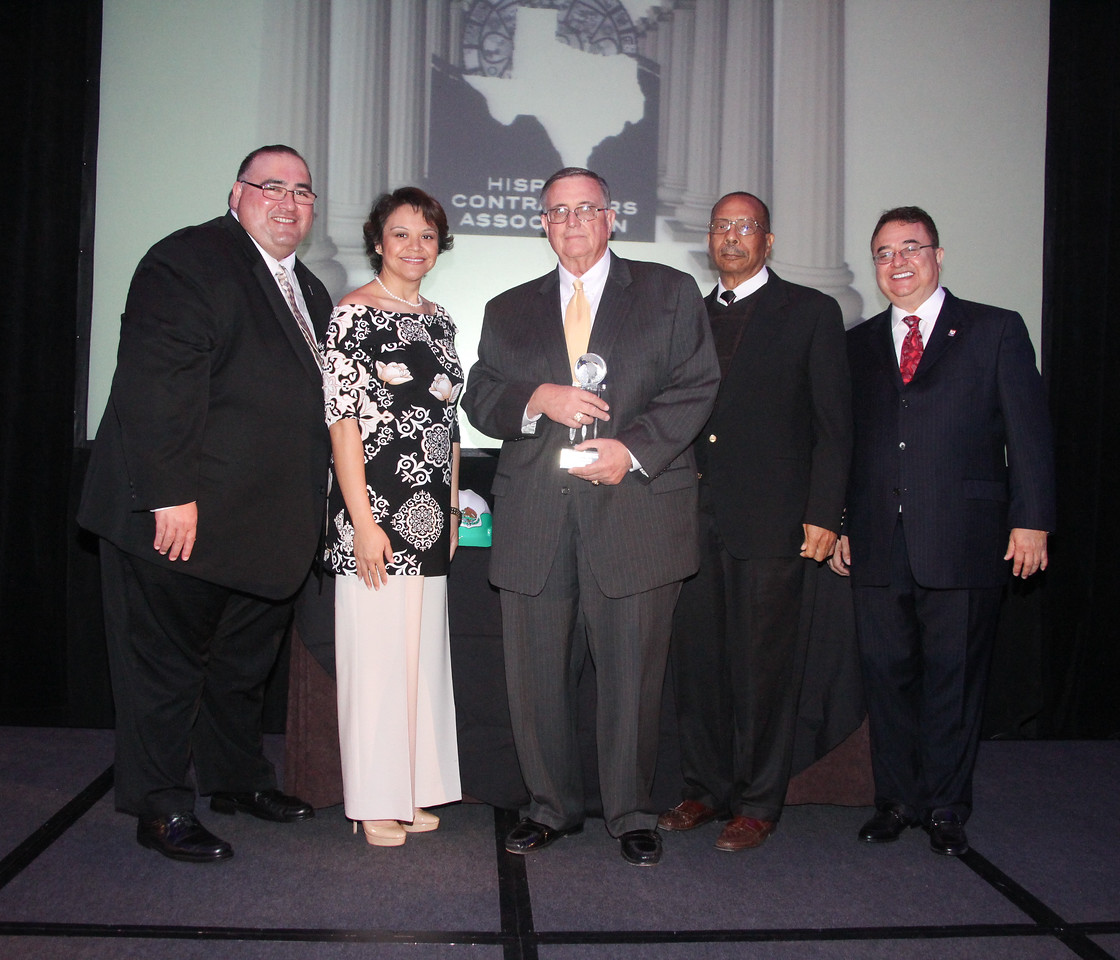 Raleigh Roussell, past President and CEO of TEXO recognized at the 2013 RHCA Pillar Awards