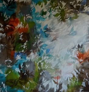 Colorstream-Jardine, 47x47 painting on c anvas JPG