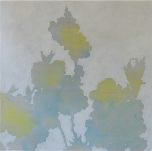 """Cherry Blossom 3-Sussland, 30""""x30"""" painting on canvas"""