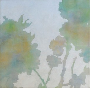 """Cherry Blossom 5-Sussland, 30""""x30"""" painting on canvas"""