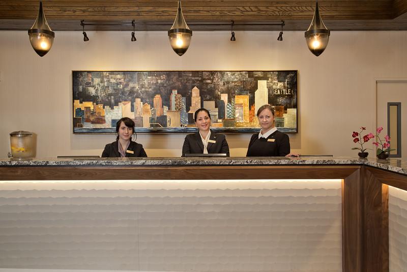 Lobby Front Desk Team