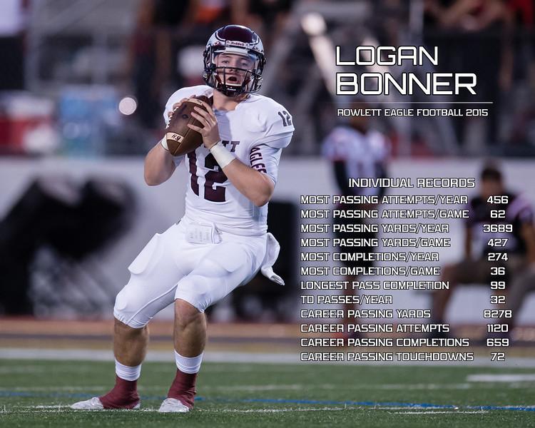 2015 Logan Bonner - Individual Records