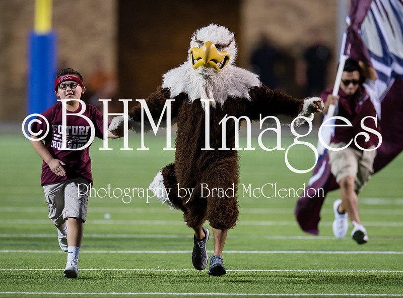 The Rowlett Eagles defeated the Garland Owls 34-28 on Friday, October 2, 2015 at HBJ Stadium in Garland, TX.  Logan Bonner & Monica Boyd were named the Homecoming King & Queen, respectively.