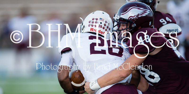 Plano Wildcats vs Rowlett Eagles at HBJ Stadium in Garland, TX on September 9, 2016.