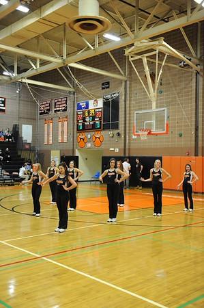 RHS Dance Team - Basketball 2015/16