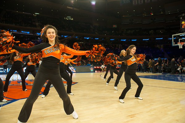 RHS Dance Team at MSG 2/7/16