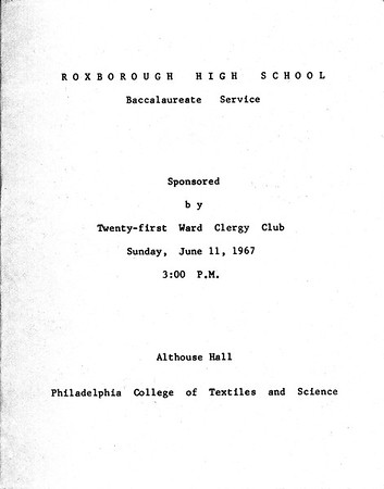 1967 Baccalaureate Service_0001